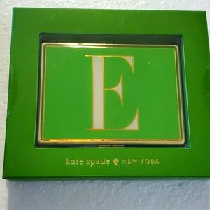 Kate Spade Initial E Id card Holder